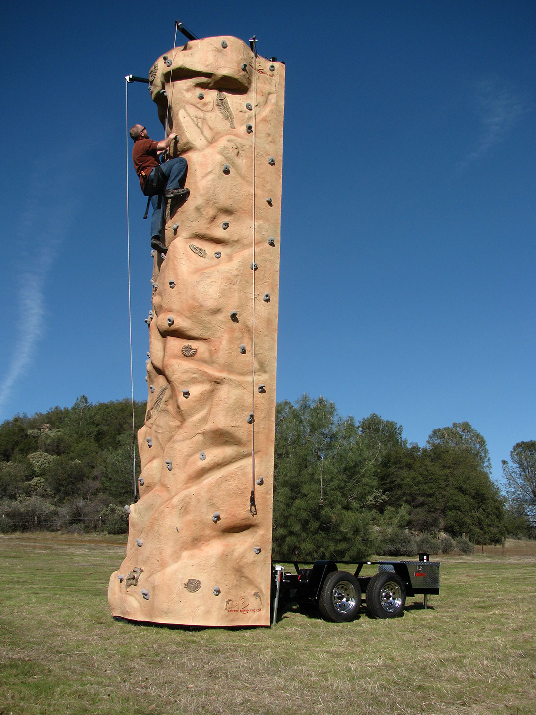 Element Mobile Climbing Wall
