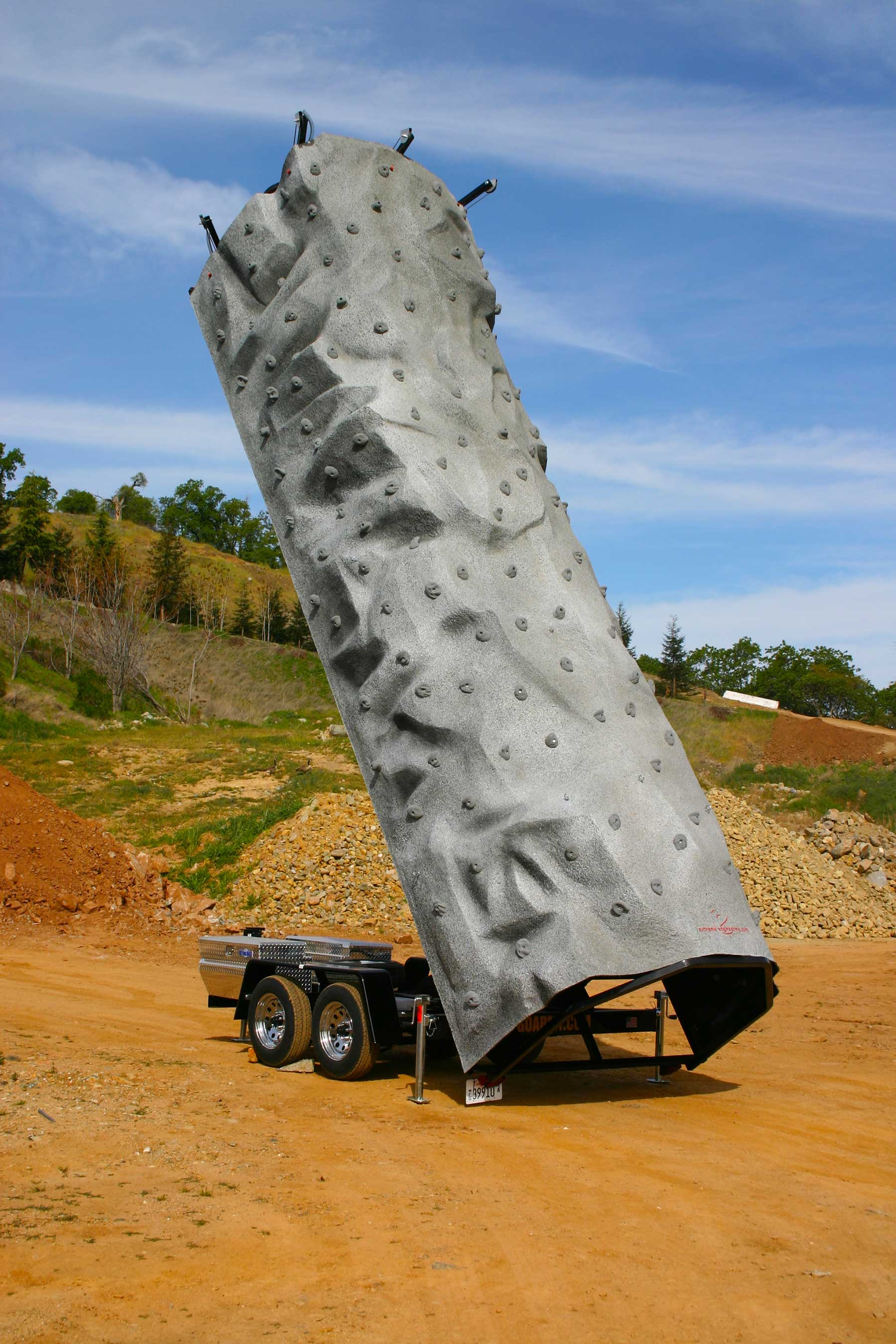 Monolith Mobile Climbing Wall Extreme Engineering