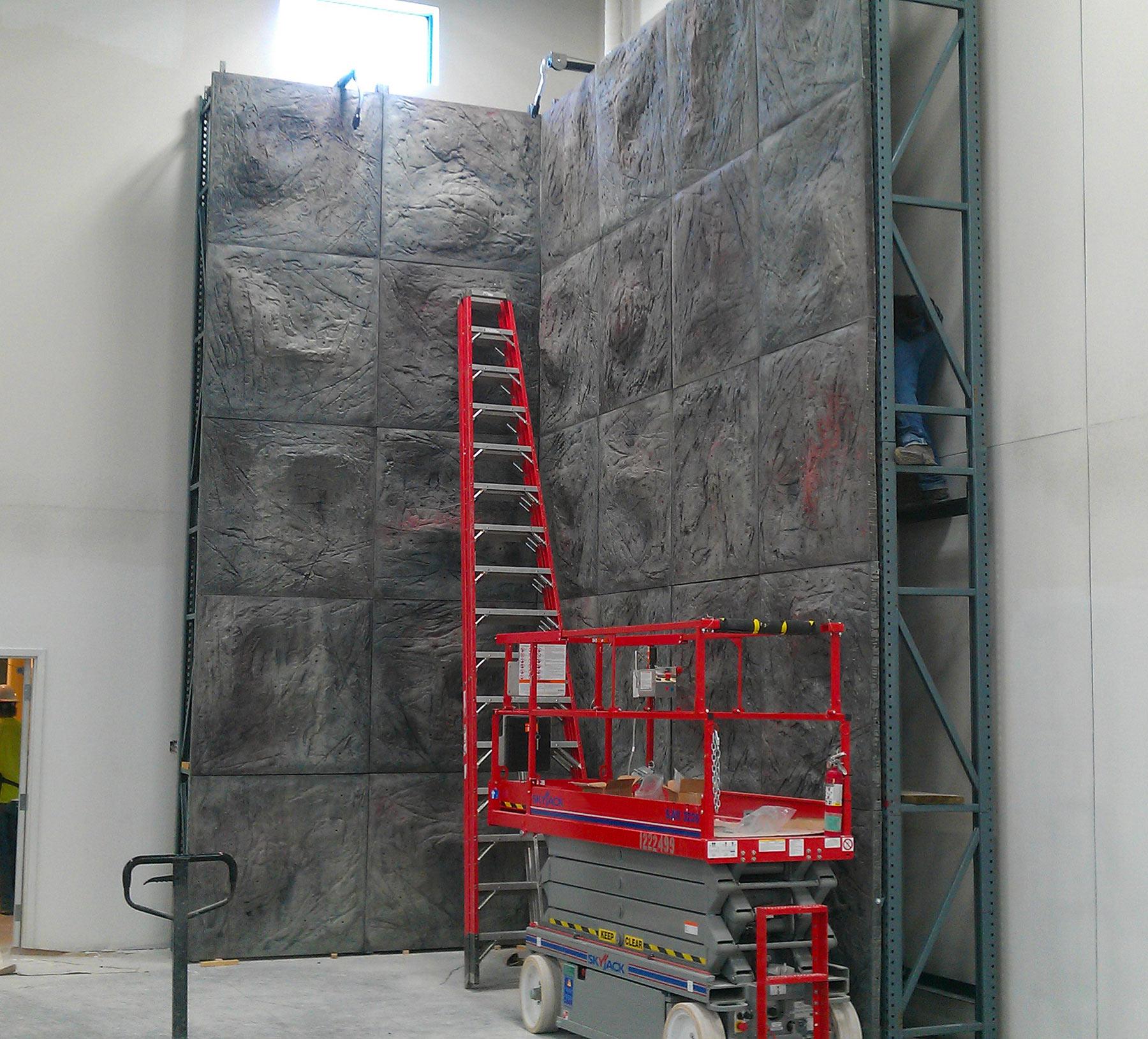 Sierra Panel System Modular Climbing Wall