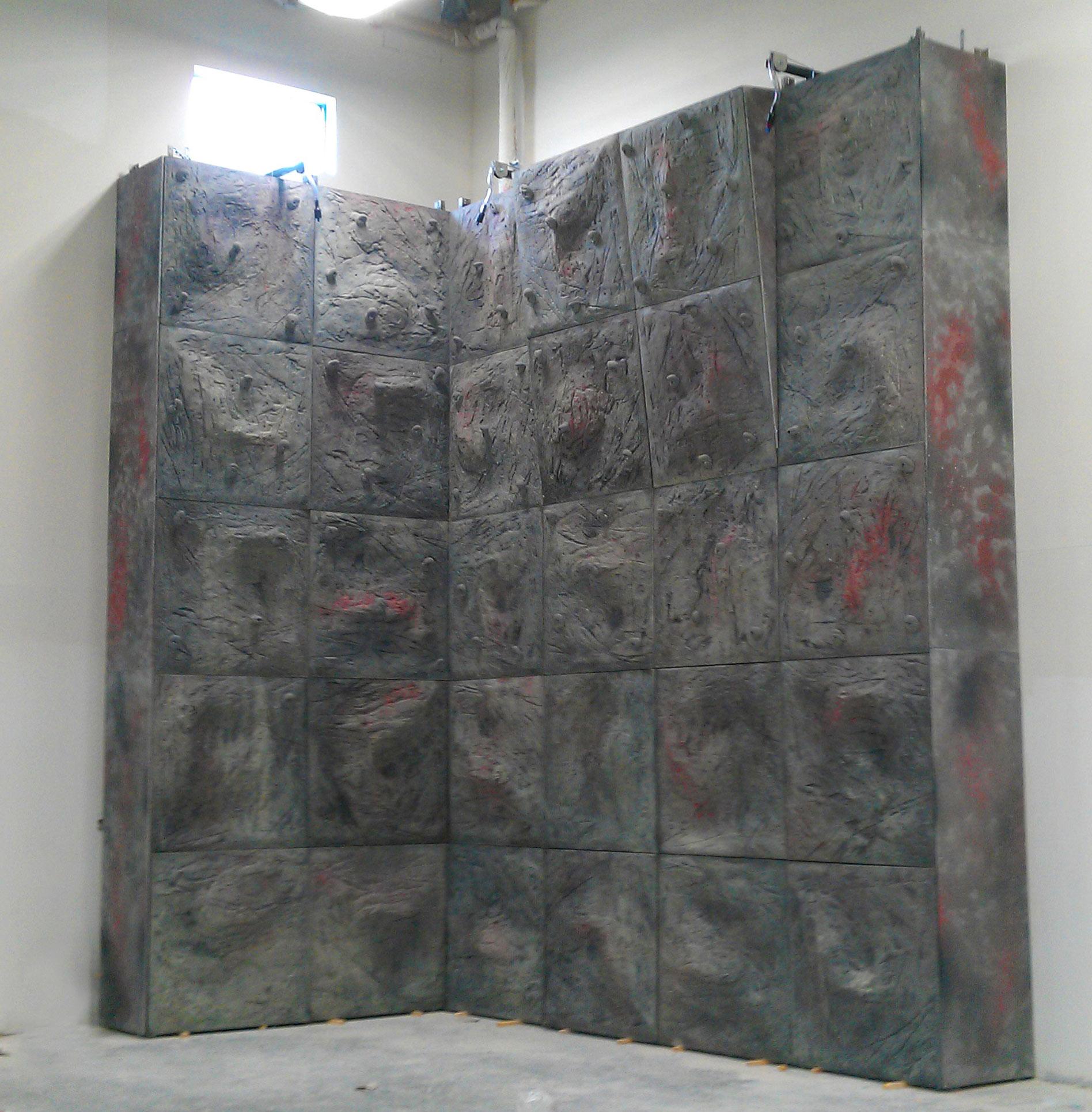 Rock Wall Panels : Sierra panel system modular climbing wall