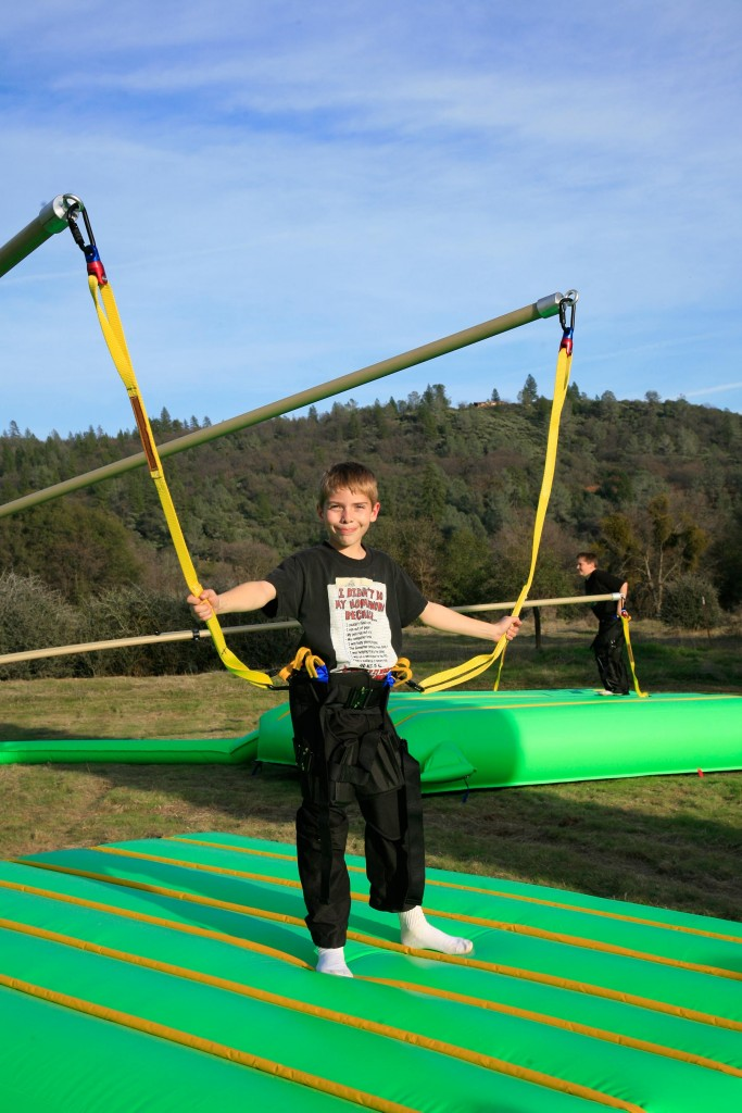 Extreme Air Jumper, Monkey Motion, Bungee Jumper, Extreme Engineering