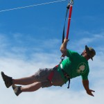 Zipline, Stationary Zipline, Best New Product Zipline, Extreme Engineering, Fly Wire Zipline, zipline