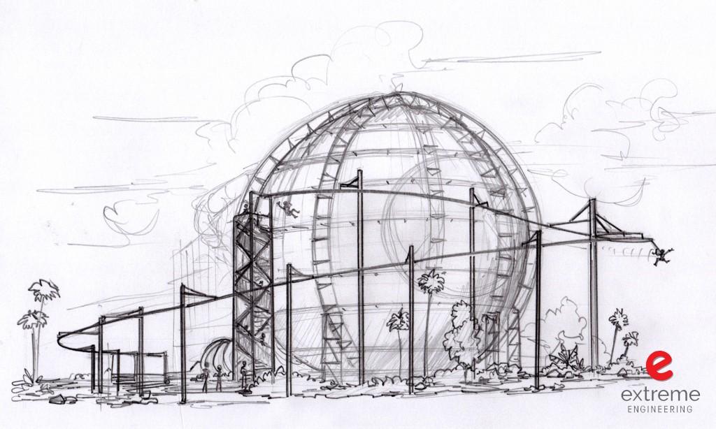 Cartoon Network Cloud Coaster Zipline Proposal