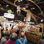 Zipline Roller Coaster Ride IAAPA Demo