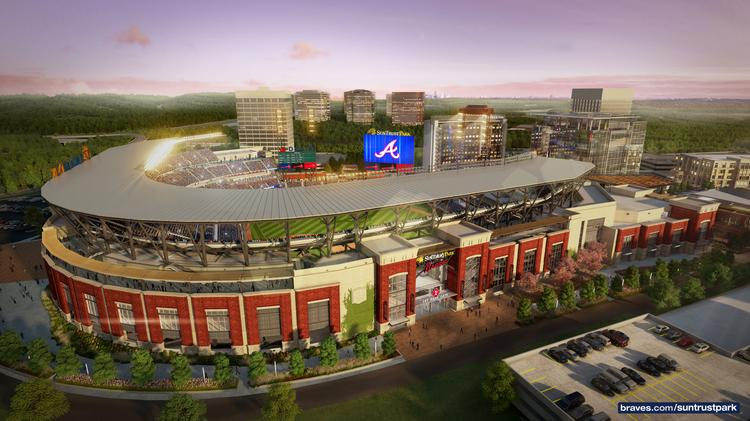 suntrust park extreme engineering